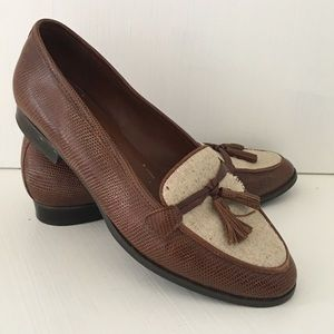Leather loafers 6.5